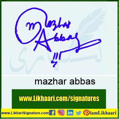 mazhar-abbas-Signature-Styles