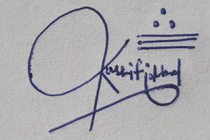 Kashif Iqbal Signature Ideas