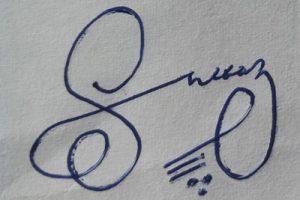Signature Ideas for Sheraz