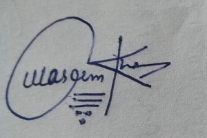 Signature Ideas for Waseem Khan