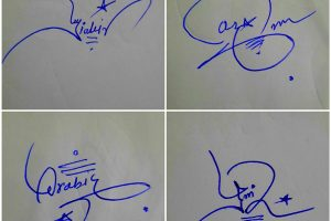 Cool Signatures For My Name