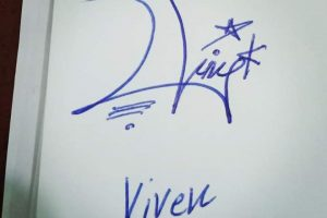Vivek Name Signature Style
