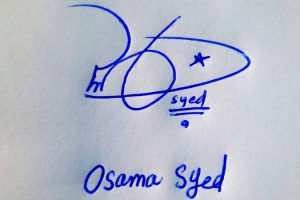 Osama Syed Name Online Signature Styles
