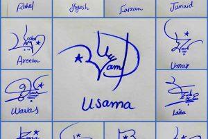 Make Your Name Signature