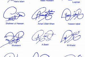 Online Signature Ideas